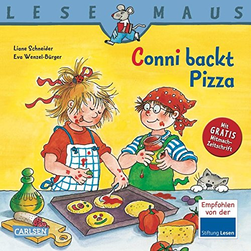 Conni backt Pizza