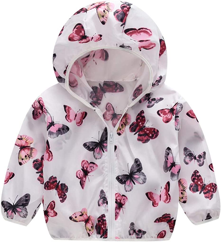 Hmlai Clearance Toddler Kids Girls Jackets Fall Summ Boys Cheap SALE Start Hooded Low price