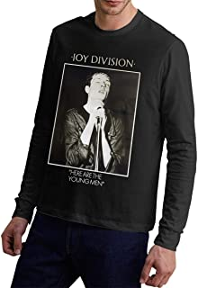 Joy Division Here are The Young Men Mens Sporty Cotton Long Sleeves T-Shirt
