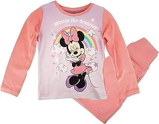 Minnie Tee Shirt Maniche Lunghe per Bambina Ecru da 4/a 10/Anni