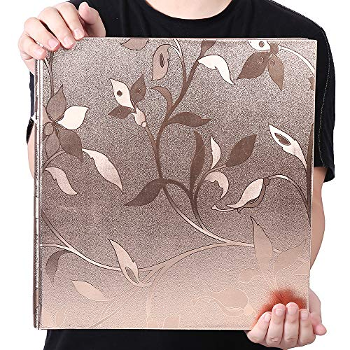Photo Album 4x6 600 Photos Leather Cover Extra Large Capacity for Family Wedding Anniversary Baby Vacation
