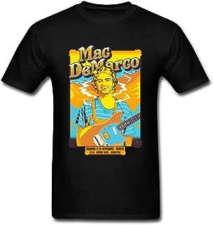 SUNRAIN Men's Mac Demarco Smoke Poster T Shirt S