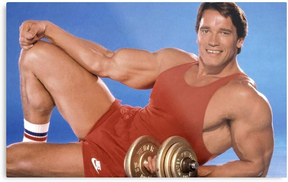 Gym Arnie Bodybuilding Arnold Weights Weightlifting Arms I Topseliing- Trendy Poster for Wall Art Home Decor Room - Customize