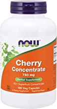Now Supplements, Cherry Concentrate (Prunus serotina)750 mg, 10:1 Fruit Concentrate, 180 Veg Capsules