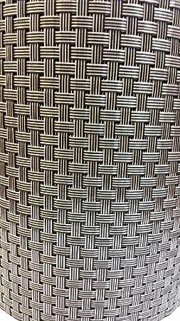 Tende da giardino in polyrattan antracite 30 x 0,19 m