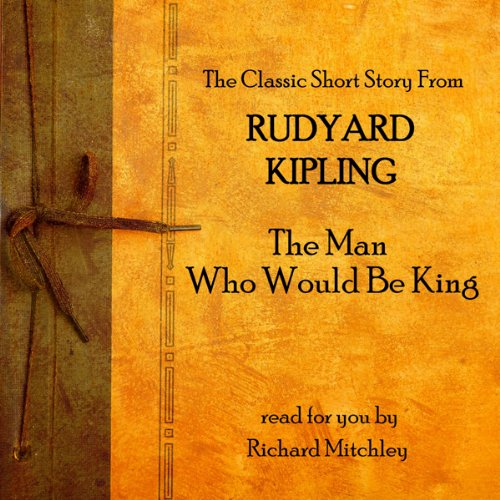 Rudyard Kipling audiobook cover art
