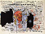 Jean Michel Basquiat, titulo: Catarsys, Litografía OF MODERN TECNIQUE 38x 28cmts press 31x 23cmts. Papel BFK Francia (marca de agua) Edition 150Numered pencil signed pr.???/150