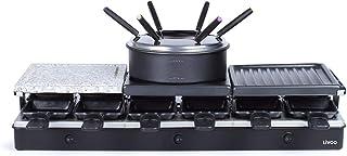 Livoo - Appareil à raclette et fondue 12 personnes DOC234 Noir