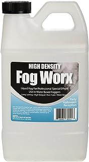 Sanco Industries Fogworx Extrema Alta Densidad Jugo Niebla - Larga duración, de Alto Rendimiento, a Base de Agua máquina de la Niebla de líquido - Medio galón, 64 oz HD Medio galón