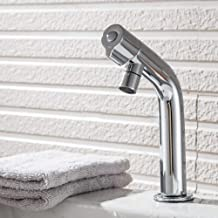 Generic Bath Basin Faucet Brass Chrome Faucet Brush Nickel Sink Mixer Tap Cold Water Bathroom Faucets
