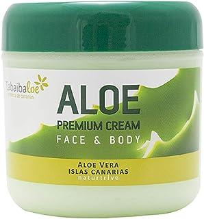 Tabaibaloe Premium Cream Aloe Vera Crema de Aloe Vera para cara y cuerpo 300 ml