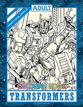 Transformers Coloring Book for Adults, Paperback (50 pages)