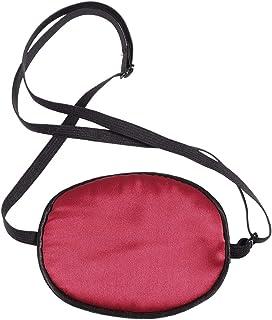 SUPVOX 調整可能なシルクパイレーツアイパッチキッズ弱視斜視用怠惰な目のためのソフトで快適なシングルアイマスク