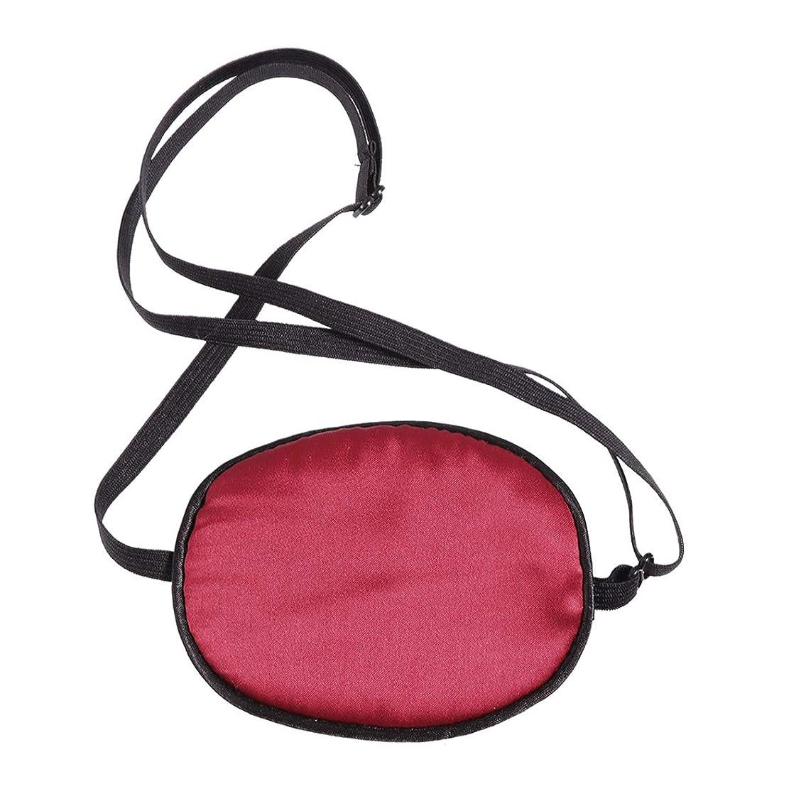 トレース投獄シュリンクHEALIFTY 睡眠の目隠し調節可能な絹の海賊目のパッチ子供の弱視のためのソフトで快適な単一の目のマスク正面の怠惰な目