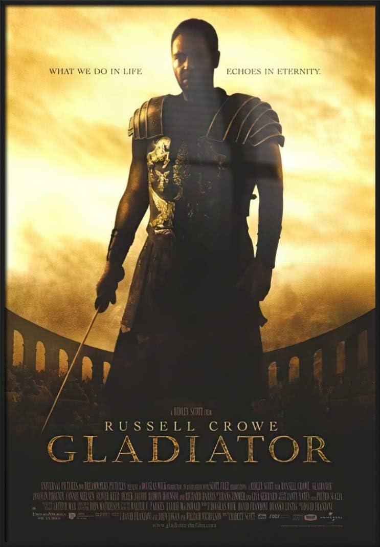 POSTER STOP ONLINE favorite Gladiator - Regula Movie Cheap super special price Print Framed Poster
