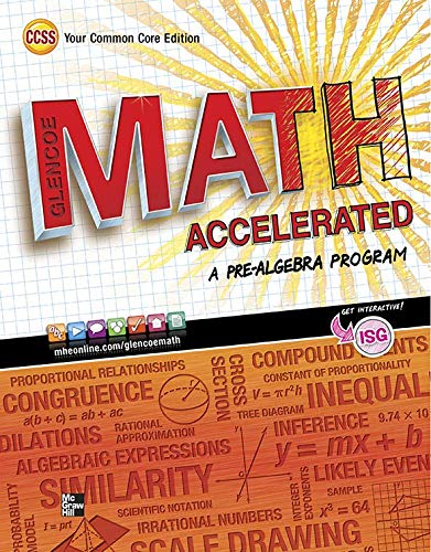 Glencoe Math Accelerated, Student Edition (MERRILL PRE-ALGEBRA)