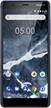 Nokia Mobile Nokia 5.1 - Android 9.0 Pie - 32 GB - Single SIM Unlocked Smartphone (AT&T/T-Mobile/MetroPCS/Cricket/Mint) - 5.5