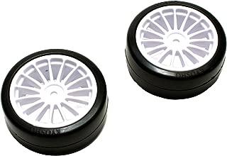 Drift tire (adhesive already / White / 2pcs) (FAZER Ve-X) FAT302W