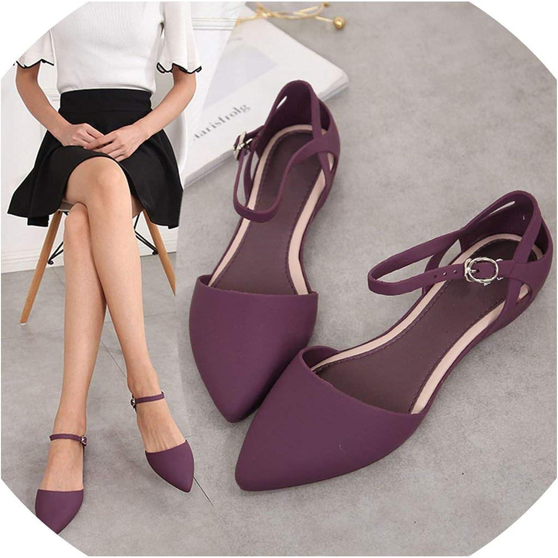 Dream-Cabin Women Sandals Open Toe Flip Flops Soft Flat Sandals Ladies Wedding Beach Sandals