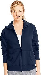 ComfortSoft EcoSmart Women's Full-Zip Hoodie Sweatshirt