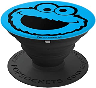 Sesame Street Simple Cookie Monster - PopSockets Grip and Stand for Phones and Tablets