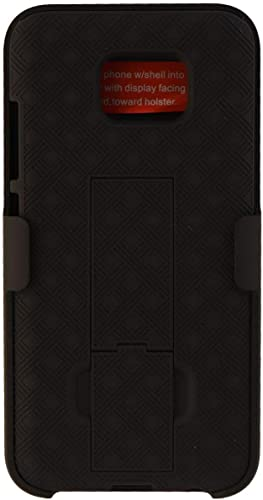 discount Verizon popular OEM Shell Holster Stand Combo for Samsung Galaxy S7 - high quality Black outlet sale
