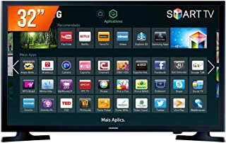 Smart TV Samsung LED 32'',Preto - HG32NE595JGXZD