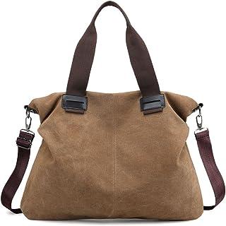 4276ec8bcf Women s Canvas Shoulder Bags Crossbody Tote Purse Work Travel Weekender Bag