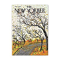 ヴォーグニューヨークポスターとプリントヴィンテージアーバンライフウォールアート抽象キャンバス絵画リビングルームモダンインテリア写真50x70cmx1フレームなし