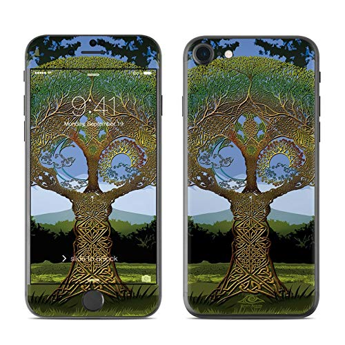 Celtic Tree Protector Skin Sticker Compatible with Apple iPhone 7 - Ultra Thin Protective Vinyl Decal Wrap Cover