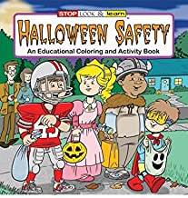 ZOCO Halloween Safety - Kid's Educational Coloring & Activity Book in Bulk (25-Pack)