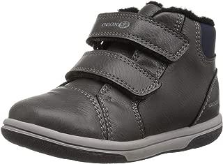 Geox Scarpe Baby Sneakers a Collo Alto B GISLI in Pelle Blu B841NA 054AU C0661