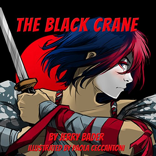 The Black Crane audiobook cover art