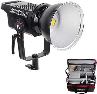 Aputure 120D Mark 2, 120D II LED, 180W Daylight Balanced Led Video Light, 30,000 lux@0.5m, CRI96+ TLCI97+, Support DMX, 5 Pre-Programmed Lighting Effects, Ultra Silent Fan, W/PERGEAR Soft Diffuser