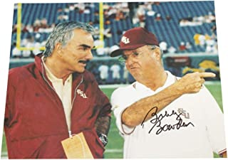 Bobby Bowden Autographed Signed 8x10 Photo Florida State Seminoles with Burt Reynolds - Sports Collectibles Authentic