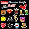 Sticker Pack Cool Stickers 100PCS, Durable, Waterproof, Aesthetic, Trendy Sticker Decals for Teens, Water Bottles Travel Case Sticker Door Laptop Luggage Car Bike Bicycle #3