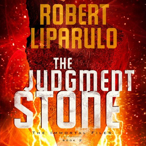 The Judgment Stone audiobook cover art