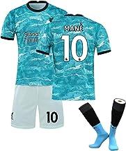 Trajes de Uniformes de fútbol para niños Salah No. 11 Henderson No. 14 Traje de Competencia de para Hombre Trajes de Entrenamiento, Nombre y número de Equipo Personalizado