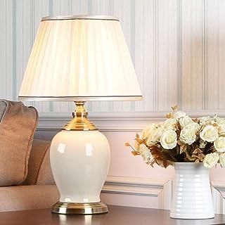 Dormitorio chino vintage salón lámpara de mesa de boda lámpara de mesa de cerámica de porcelana lámpara de mesa asiática d...