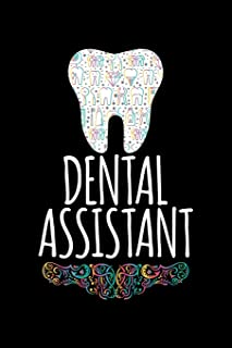 Dental Assistant: Blank Lined Journal to Write In - Ruled Writing Notebook