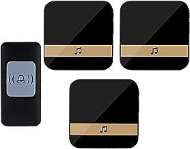 Externe deurbel Ultra lange-afstand draadloze deurbel één for drie afstandsbediening elektronische deurbel thuis pager gra...