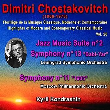 Dimitri Chostakovitch - Florilège de la Musique Classique Moderne et Contemporaine - Highlights of Modern and Contemporary Classical Music - Vol. 20