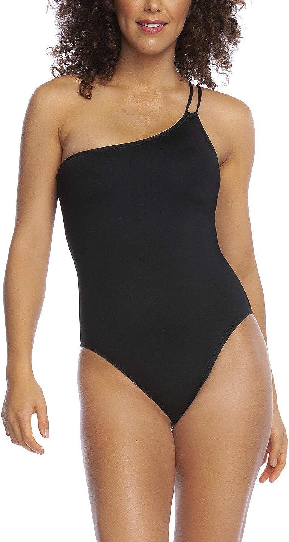 La Blanca Women's Standard Island Goddess Shoulder Mio One Piece Swimsuit