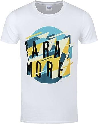 Paramore Men's Sharp Geoscape T-shirt White