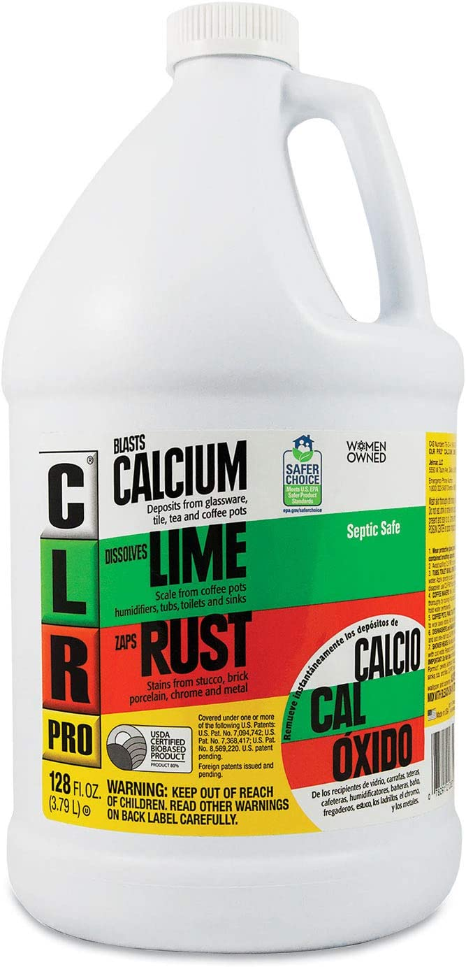 CLR Pro CL-4Pro Calcium Ranking TOP4 Lime and 1 Brand new - Rust Pack Gallon Remover