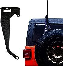 Jeep Wrangler JL JLU Premium Antenna or Flag Mount Bracket for Driver Side CB NMO FRS GMRS HAM 2018 2019 2020 & UP