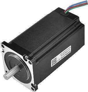 RTELLIGENT Nema 23 Stepper Motor 4A 1.8 Deg 3Nm Digital Stepping Motor Low Noise for 3D Printer/Laser/CNC Machine