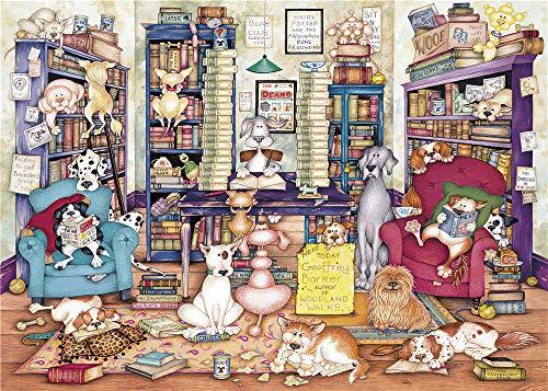 Safiman Rompecabezas Adultos 150, Casa De Perro, Decoración para El Juego De Juguetes para El Hogar, 10X15Cm