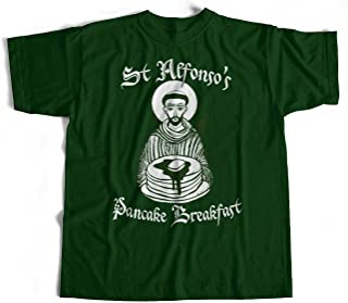 Old Skool Hooligans St Alfonso's Pancake Breakfast T Shirt