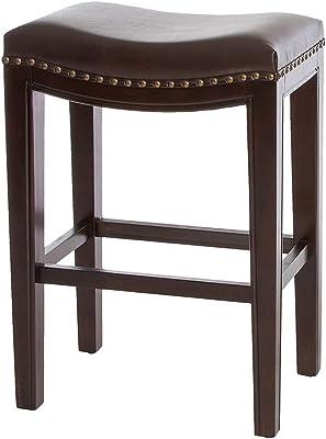 Groovy Amazon Com Belham Living Hutton Backless Counter Stool Uwap Interior Chair Design Uwaporg